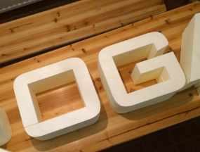StyroSign Einzelbuchstaben EPS+